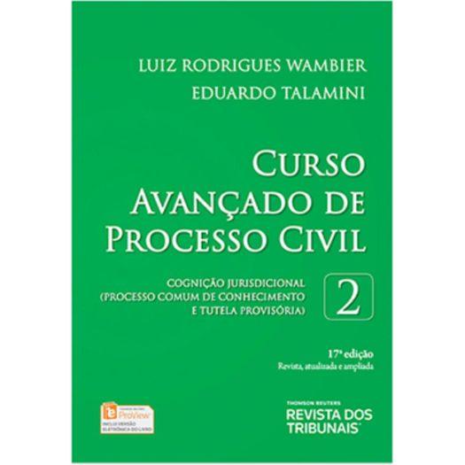 Curso Avancado de Processo Civil - Vol 2 - Rt