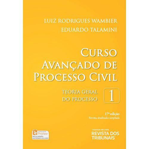 Curso Avançado de Processo Civil - Volume 1 - 17ª Edição (2018)