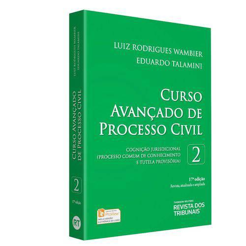 Curso Avançado de Processo Civil - Volume 2 - 17ª Edição (2018)