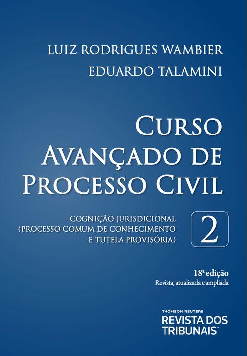 Curso Avançado de Processo Civil Volume 2 18ºedição