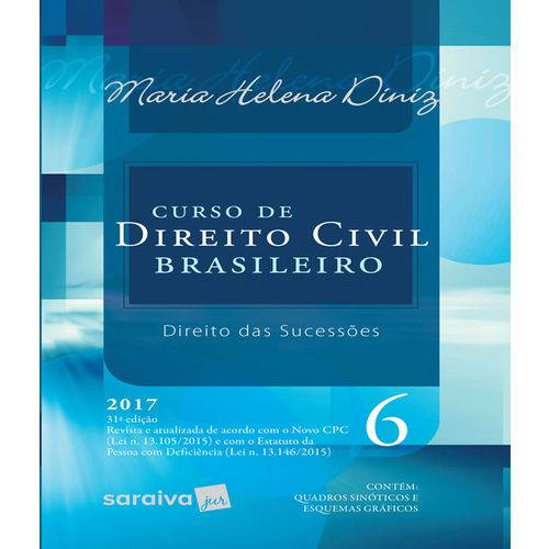 Curso de Direito Civil Brasileiro - Vol 06 - Direito das Sucessoes - 31 Ed