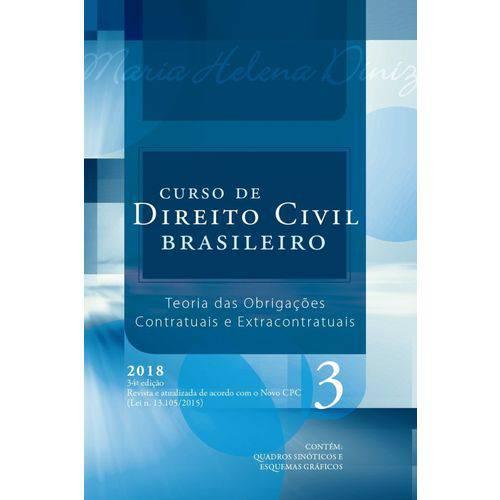 Curso de Direito Civil Brasileiro - Volume 3 - 34ª Edição (2018)