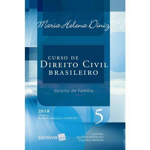Curso de Direito Civil Brasileiro - Volume 5 - 32ª Edição 2018