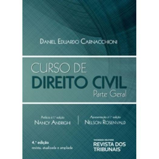 Curso de Direito Civil - Parte Geral - Rt