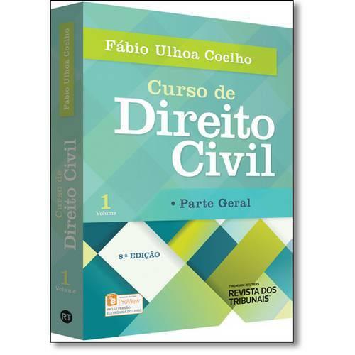 Curso de Direito Civil: Parte Geral - Vol.1