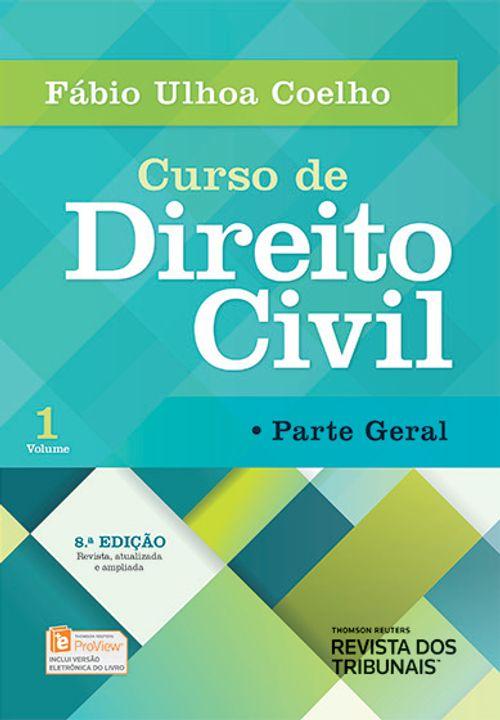 Curso de Direito Civil Volume 1 Parte Geral