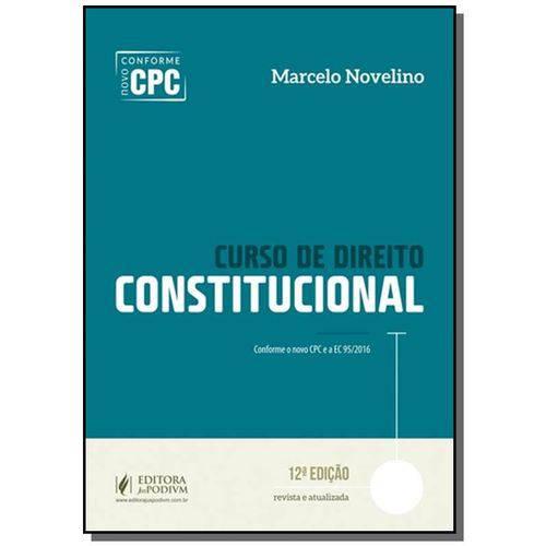 Curso de Direito Constitucional - 2017