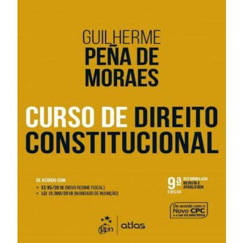 Curso de Direito Constitucional - 09 Ed