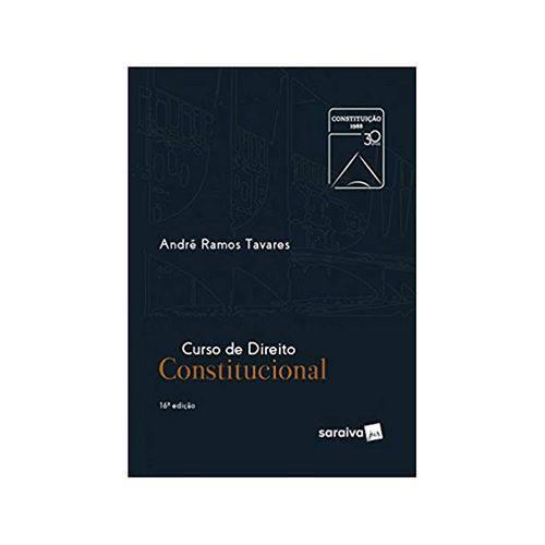 Curso de Direito Constitucional 16ªed. - Saraiva