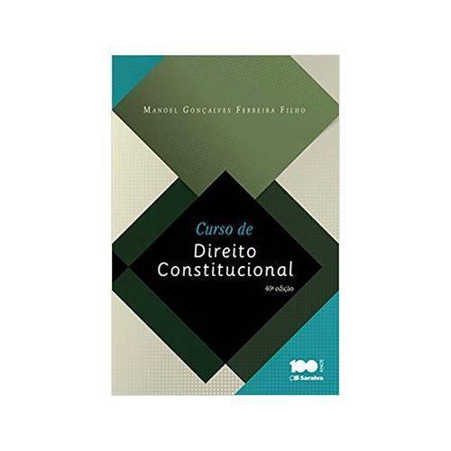 Curso de Direito Constitucional 40ªed. - Saraiva