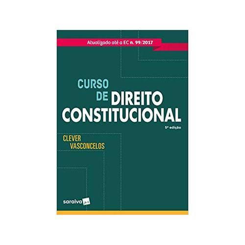 Curso de Direito Constitucional 5ªed. - Saraiva