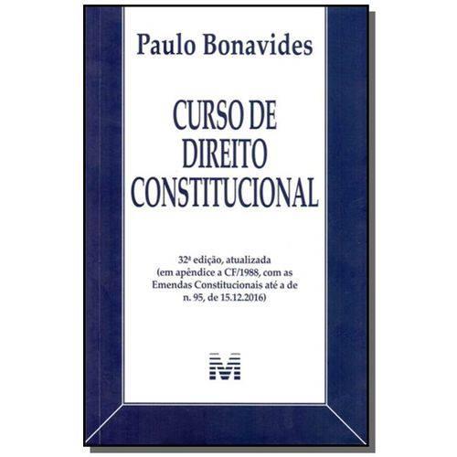 Curso de Direito Constitucional - 32ed/2017