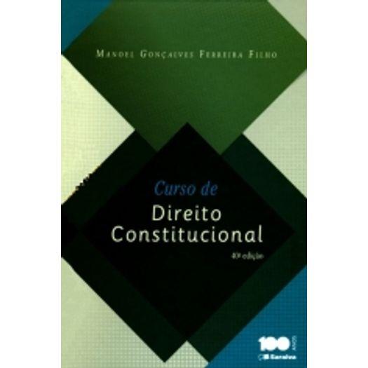 Curso de Direito Constitucional - Goncalves - Saraiva