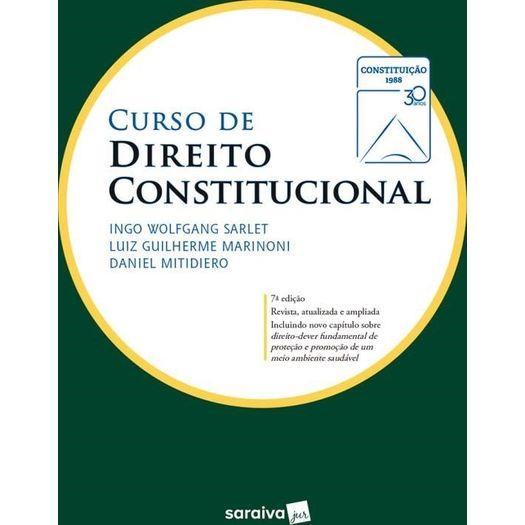 Curso de Direito Constitucional - Saraiva - 7 Ed