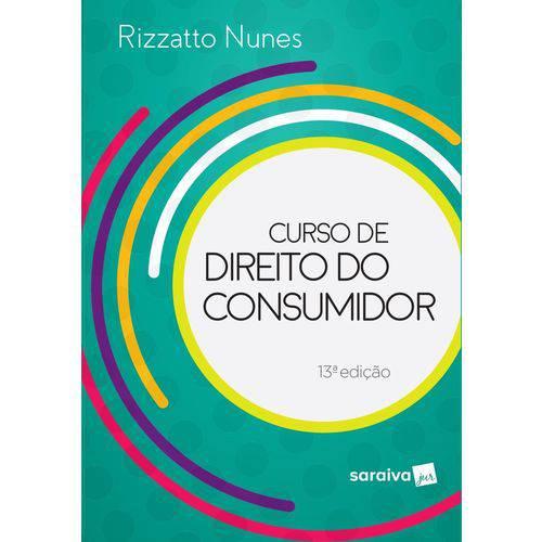 Curso de Direito do Consumidor – 13ª 2019