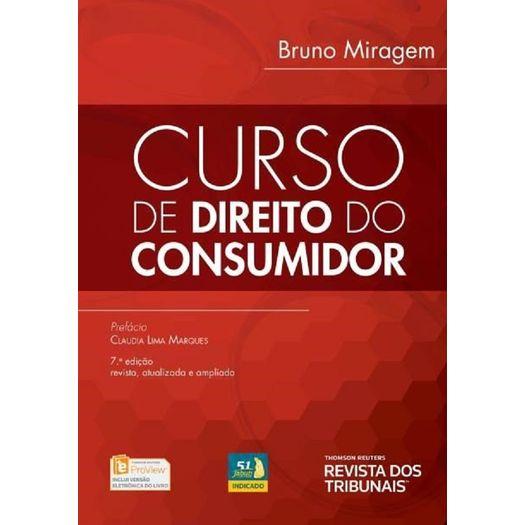 Curso de Direito do Consumidor - Miragem - Rt