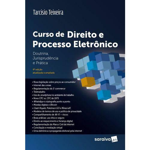 Curso de Direito e Processo Eletrônico - 4ª Edição (2018)