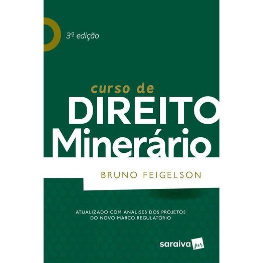 Curso de Direito Minerario - Saraiva