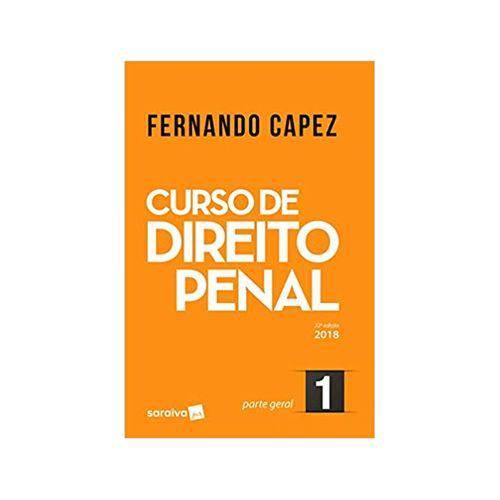 Curso de Direito Penal 1 Parte Geral 22ªed. - Saraiva