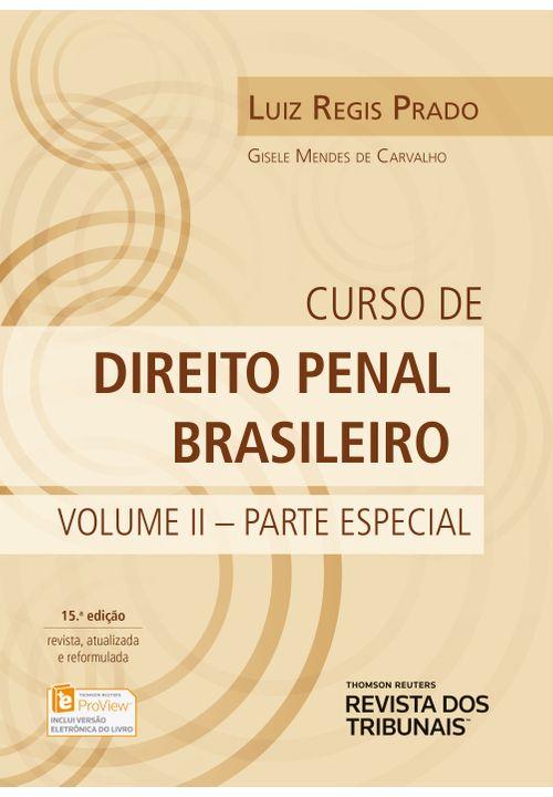 Curso de Direito Penal Brasileiro Vol. 2 - Parte Especial - 15ª Edição
