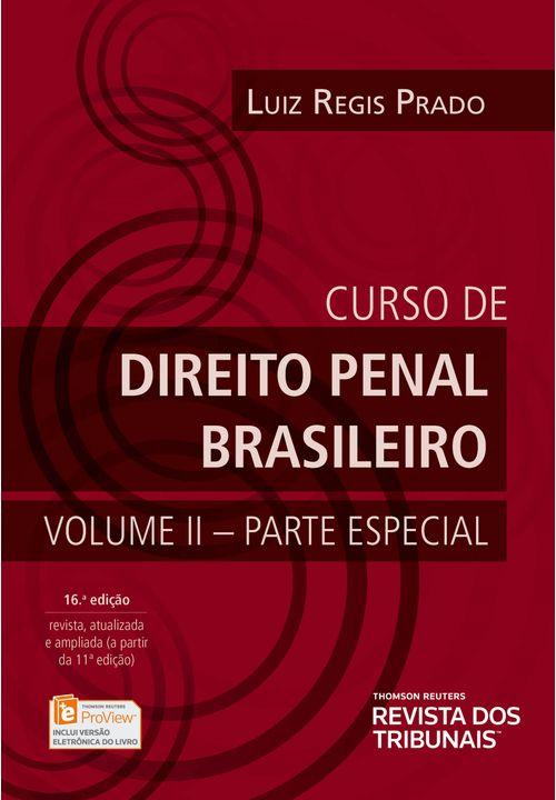 Curso de Direito Penal Brasileiro Vol. 2 - Parte Especial - 16ª Edição
