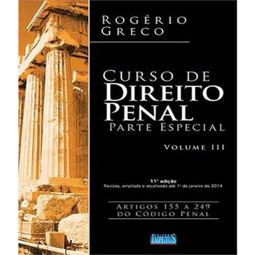 Curso de Direito Penal - Parte Especial - Vol 03 - 11 Ed