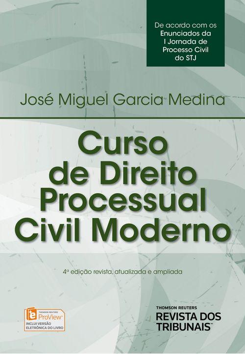 Curso de Direito Processual Civil Moderno - 4ª Edição