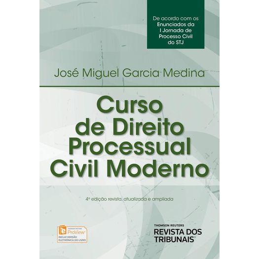 Curso de Direito Processual Civil Moderno - Rt