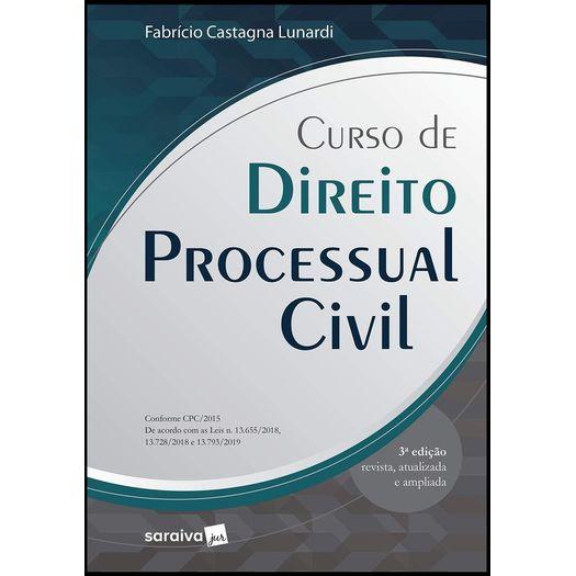 Curso de Direito Processual Civil - Serie Idp - Saraiva
