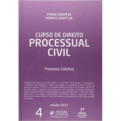 Curso de Direito Processual Civil - Vol.4