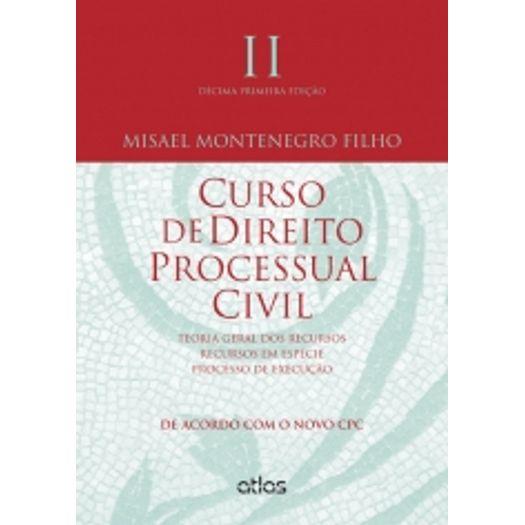 Curso de Direito Processual Civil - Vol Ii