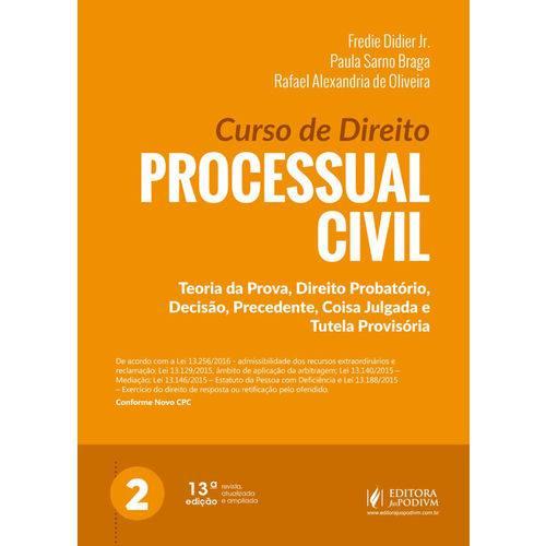 Curso de Direito Processual Civil - Volume 2 (2018)