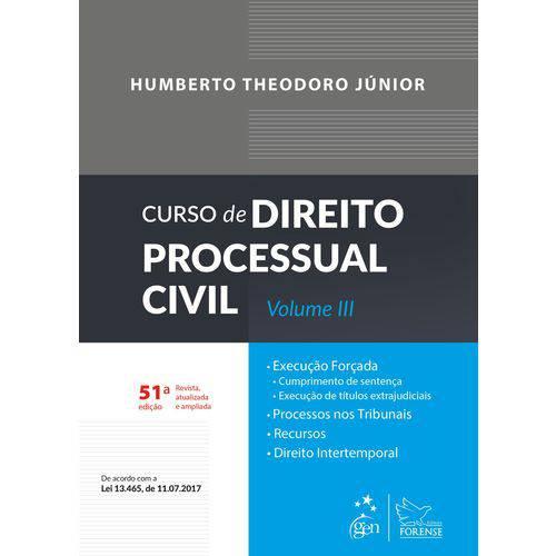 Curso de Direito Processual Civil - Volume 3