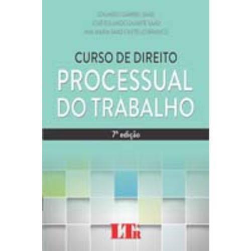 Curso de Direito Processual do Trabalho - 07ed/14