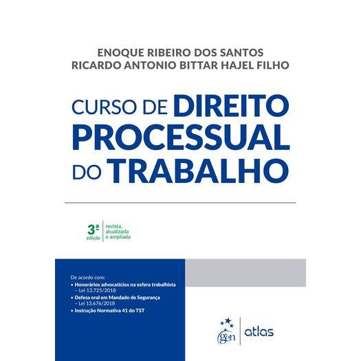 Curso de Direito Processual do Trabalho - Atlas
