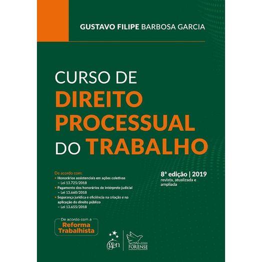 Curso de Direito Processual do Trabalho - Forense