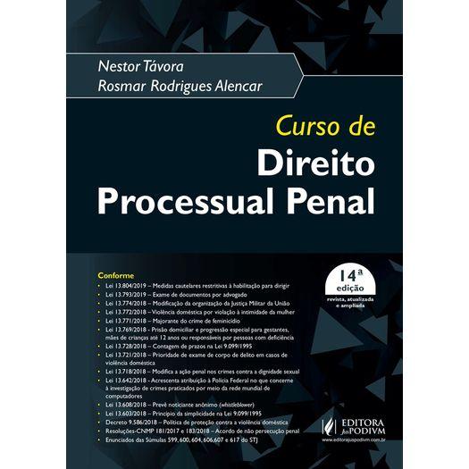 Curso de Direito Processual Penal - Juspodivm