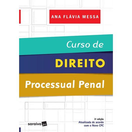 Curso de Direito Processual Penal - Saraiva