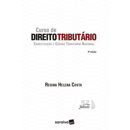 Curso de Direito Tributário - 8ª Edição (2018)