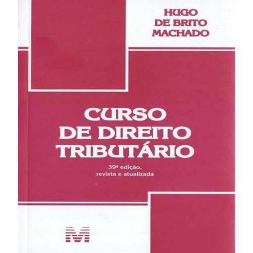 Curso de Direito Tributario - 39 Ed