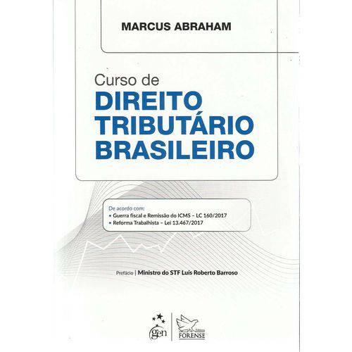 Curso de Direito Tributario Brasileiro - 01ed/18