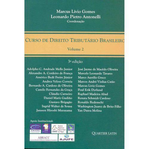 Curso de Direito Tributário Brasileiro Vol. 2