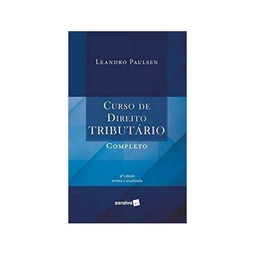 Curso de Direito Tributário Completo 9ªed. - Saraiva