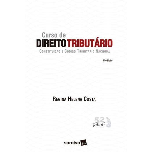 Curso de Direito Tributario - Costa - Saraiva - 8 Ed
