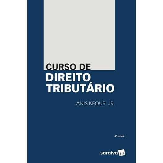Curso de Direito Tributario - Kfouri - Saraiva