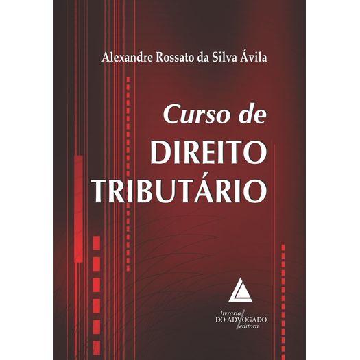 Curso de Direito Tributario - Livraria do Advogado