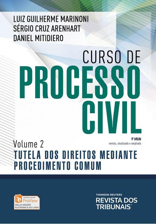 Curso de Processo Civil Vol 2 - 4ª Edição