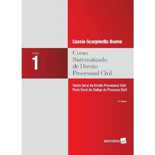 Curso Sistematizado de Direito Processual Civil 1 - Saraiva