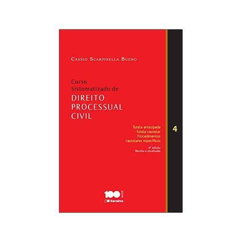 Curso Sistematizado de Direito Processual Civil 4 6ªed. - Saraiva