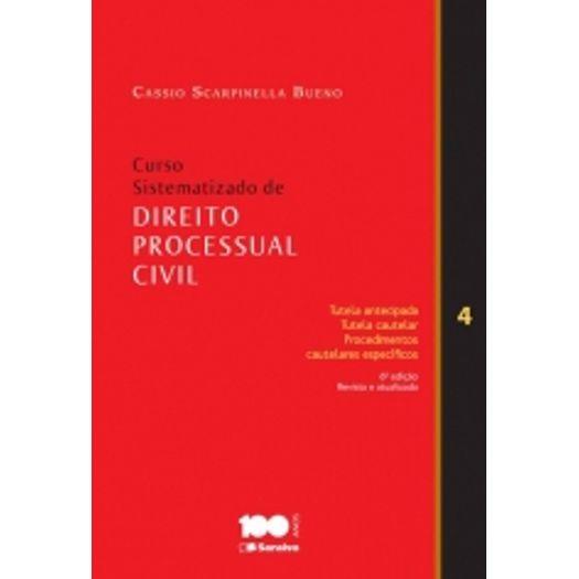 Curso Sistematizado de Direito Processual Civil 4 - Saraiva